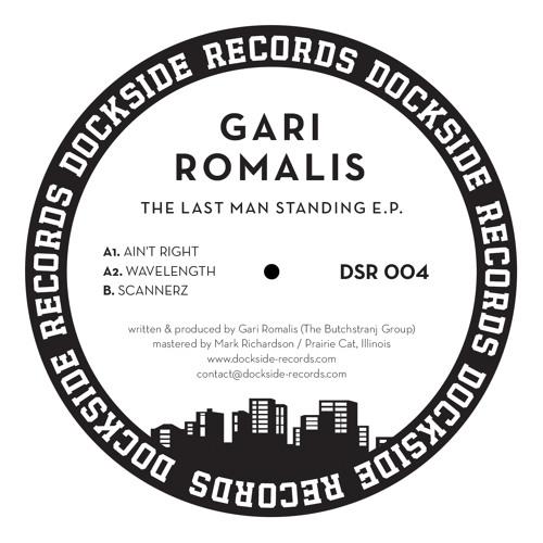 DSR004  Gari Romalis - The Last Man Standing E.P.