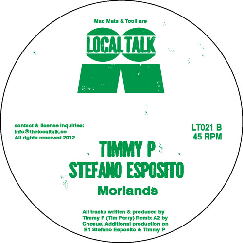 Timmy P & Stefano Esposito - Morlands (LT021, Side B)