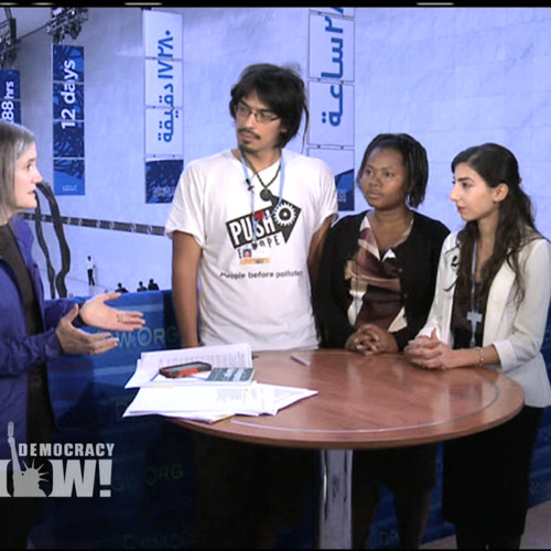 With Future Imperiled, Youth Activists Demand Urgent Action at U.N. Climate Summit in Doha