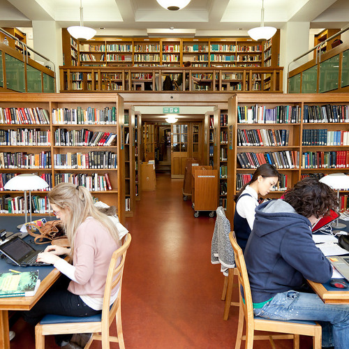 UCL Soundscapes: Main Library, Art History section