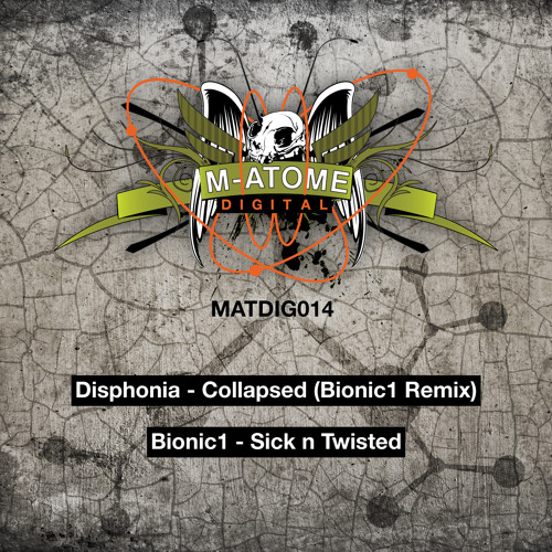 Disphonia - Collapsed (Bionic1 remix) clip MATDIG014 - Out Now!