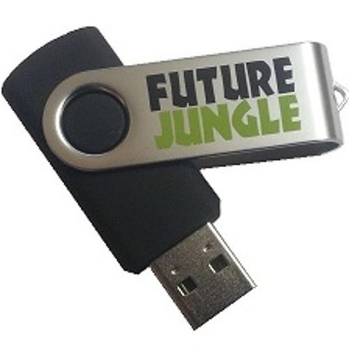 Strange Rollers - Worlds End - Future Jungle USB Keyring