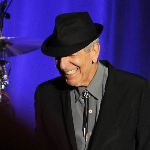 Leonard Cohen in Montreal 28/11/12 Premiere of ' Show me the place '