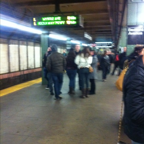 Sonic Warfare at Bedford Avenue L Station