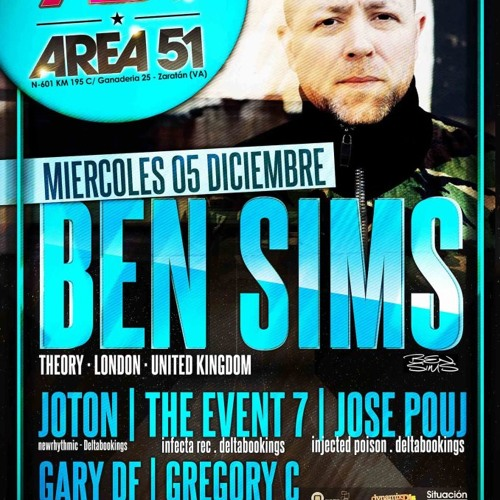 The Event 7 Dj Set - E-Reflection  @ Area 51 (Valladolid, Spain) 05.12.12