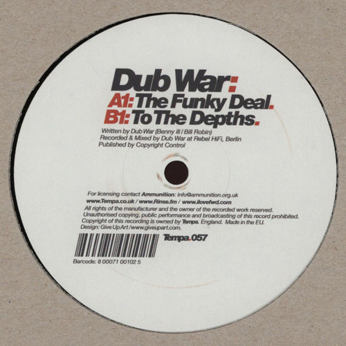 Dub War - The Funky Deal (Dubtronic Special Mix 2012)