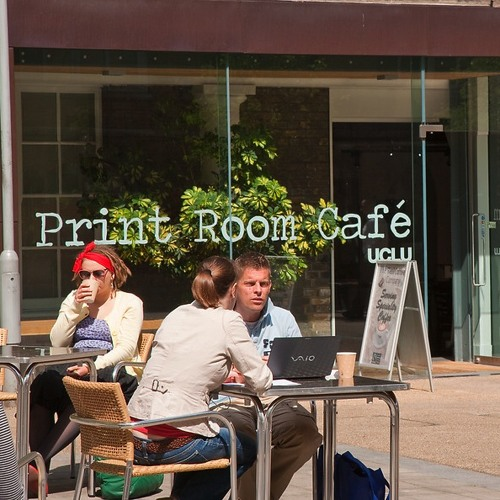 UCL Soundscapes: Print Room Café kitchen