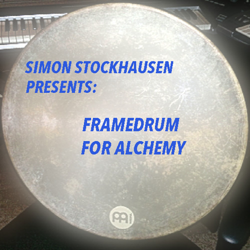 Rubberball Mix - Demo Framedrum for Alchemy