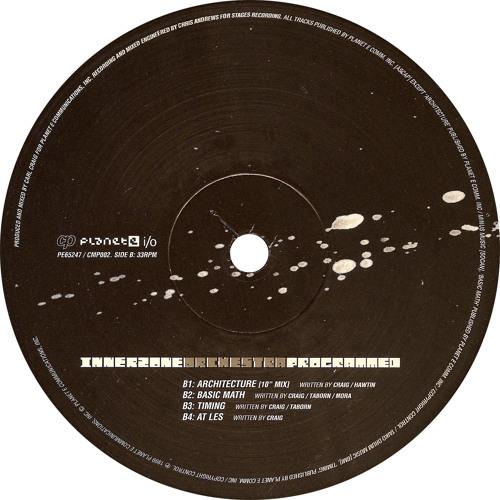 """Innerzone Orchestra: Architecture (10"""" Mix) 1999 PE65247"""