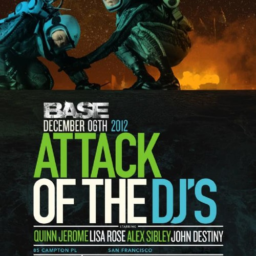 Techology RAW- John Destiny LIVE @ VESSEL 12-6-12