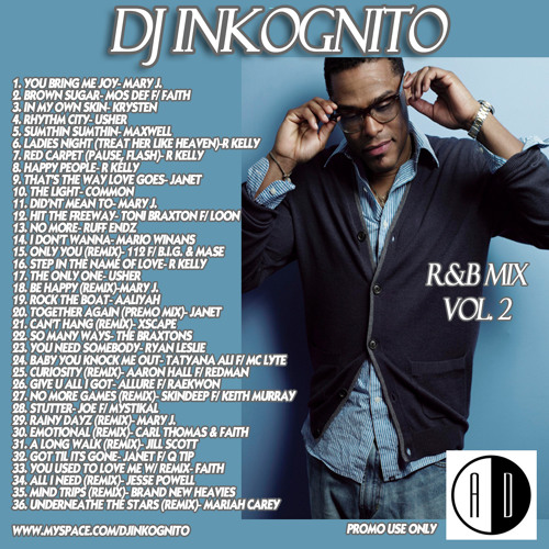 DJ Inkognito Rnb mix 2