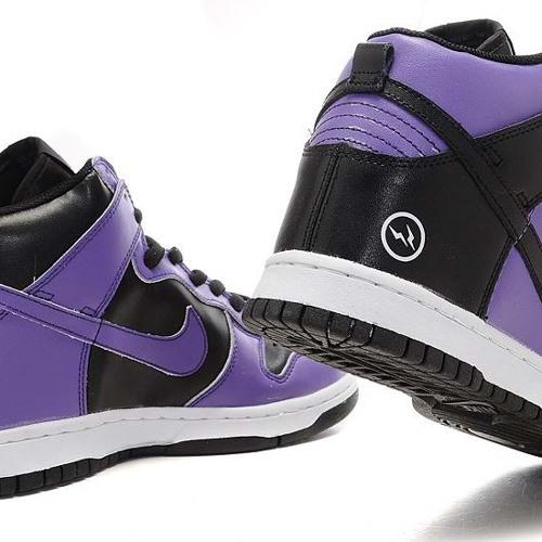 Purple Dunks