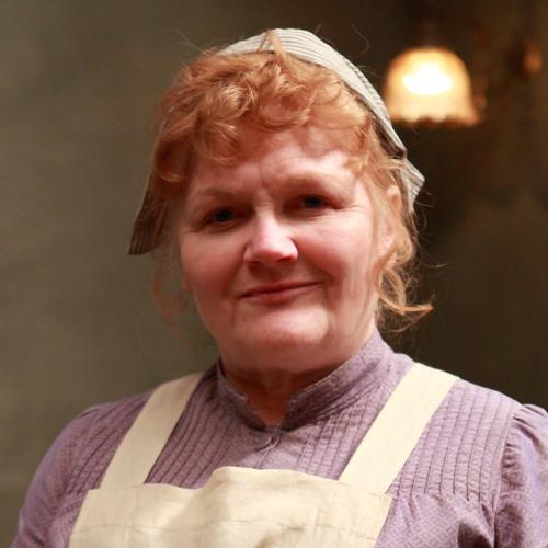 Lesley Nicol (Mrs. Patmore) on Downton Abbey | November 28, 2012