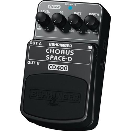 """BEHRINGER SoundDemo """"CD400"""" 01"""
