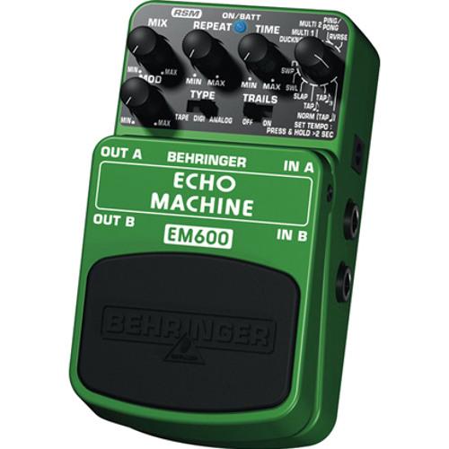 """BEHRINGER SoundDemo """"EM600"""" 02"""