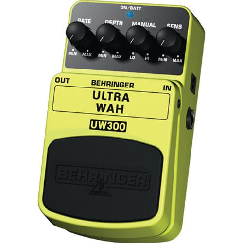 """BEHRINGER SoundDemo """"UW300"""" 01"""