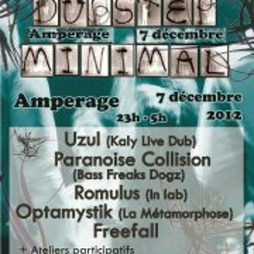 December 7, 2012, Romulus Set-live @L'Amperage, Grenoble (Asso La Metamorphose)