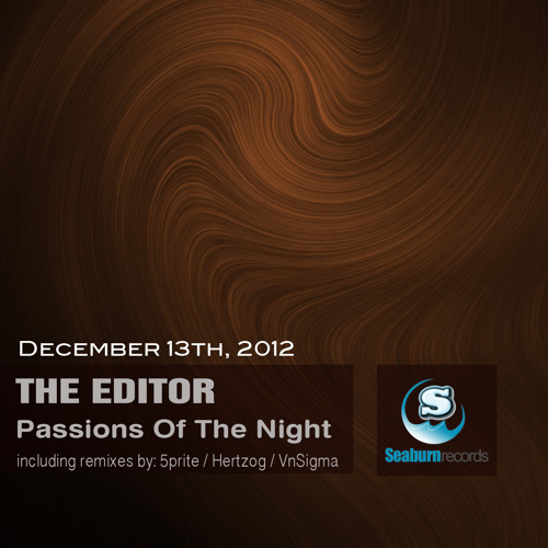 The Editor - Passions Of The Night EP (Seaburn records)