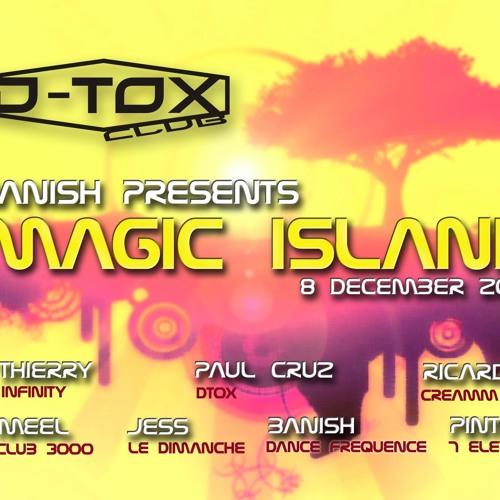 dj Paul cruz @ Magic Island 08.12.2012 (Club D-tox)