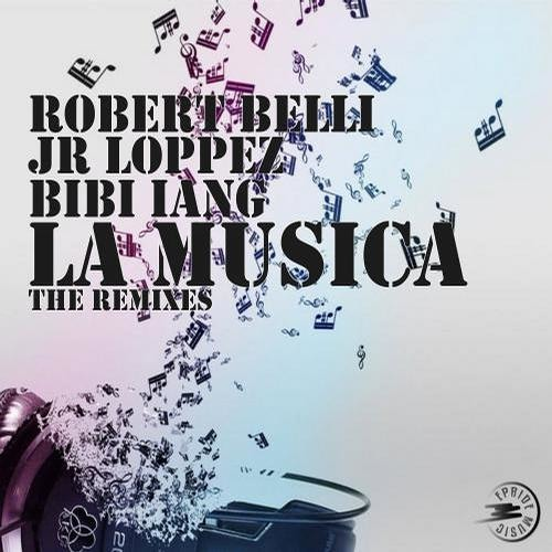 Robert Belli & Jr Loppez Ft. Bibi Iang - La Musica - (Original Radio Mix)