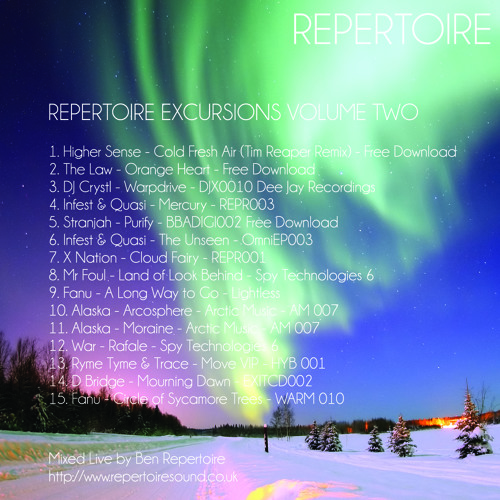Ben Repertoire - Repertoire Excursions Volume 2