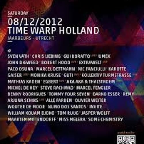 Michel de Hey b2b Benny Rodrigues @ Timewarp, Utrecht (9-12-2012)