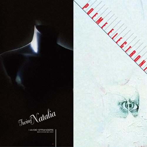 """ANNA 041 - TWINS NATALIA / POEME ELECTRONIQUE split 12"""" --- OUT DEC '12"""