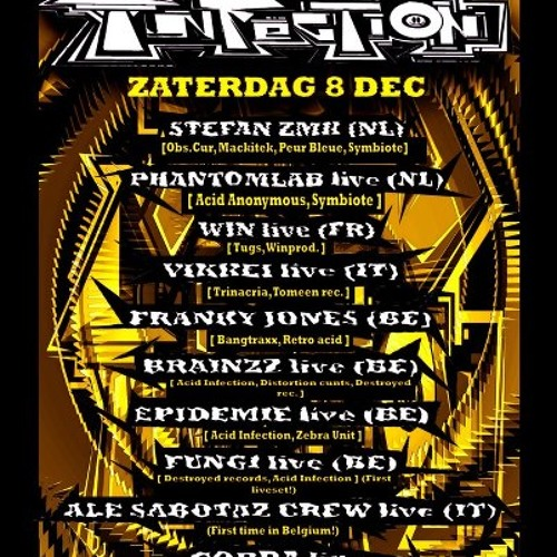 Phantomlab Live at Acid infection 08-12-12