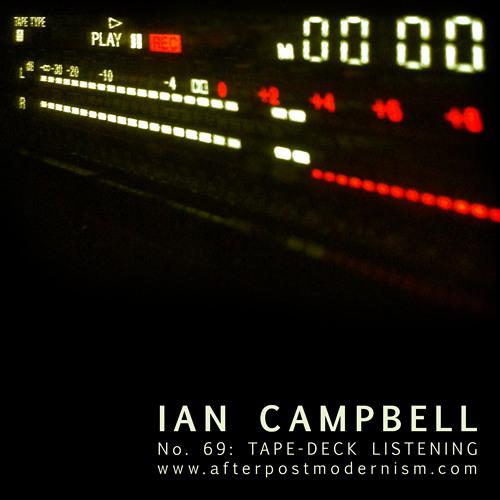 No. 069: Tape-Deck Listening [Disquiet0049-DeckDuet]
