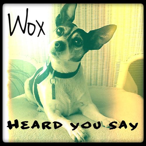 Wox - Heard You Say (Original Mix)