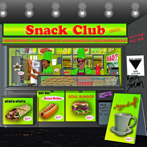 "Venturi, ou la vie sauvage ""Snack Club International EP"""