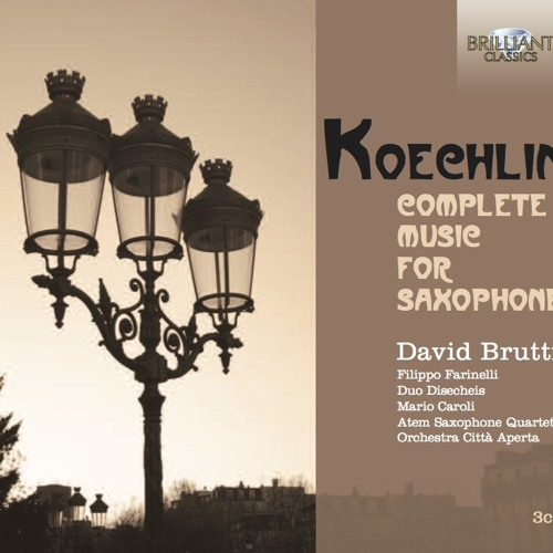 Charles Koechlin - Sonatine N°1 op. 193 -IV- SAMPLE