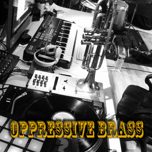 sampling with maschine 7# (oppressive brass)