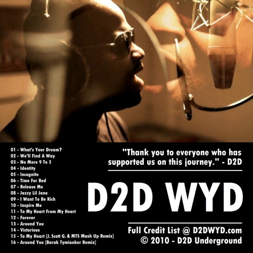 D2D - We'll Find A Way (Radio Edit) (@KennyMcNeil Presents)