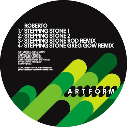 Roberto- Stepping Stone 'ROD Remix' (Artform) PREVIEW