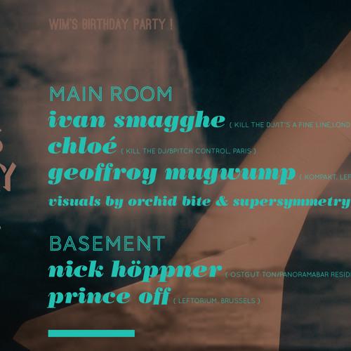 Geoffroy Mugwump @ Leftorium - opening set  17.11.2012
