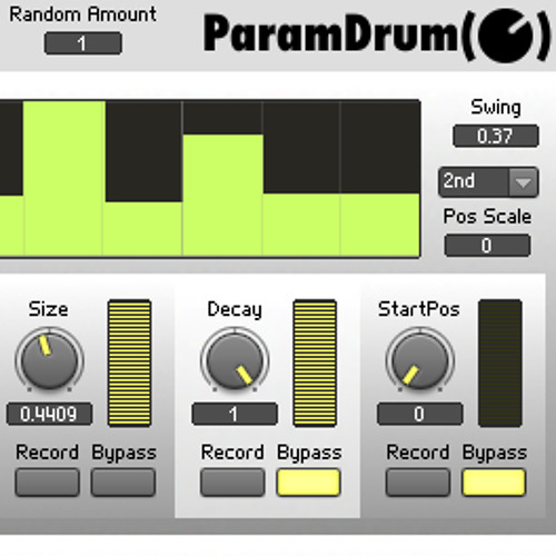 ParamDrum TR Sounds with Echophonic