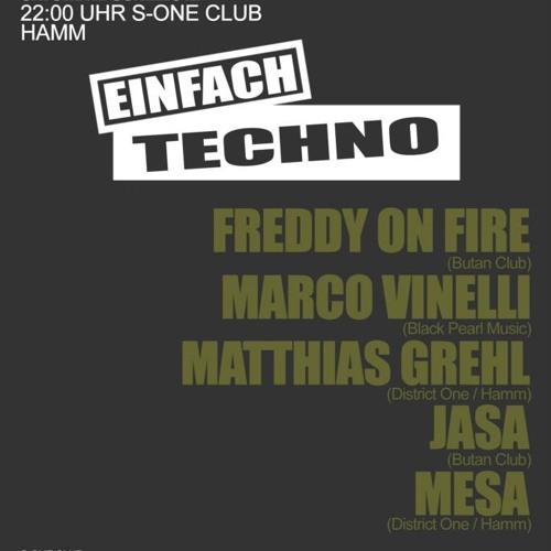 Matthias Grehl @ Einfach Techno 08.12.2012