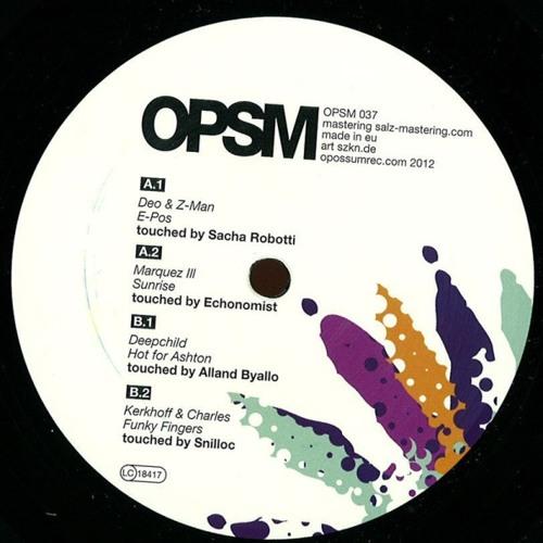 Marquez ILL - Sunrise (Echonomist touch) OPSM037