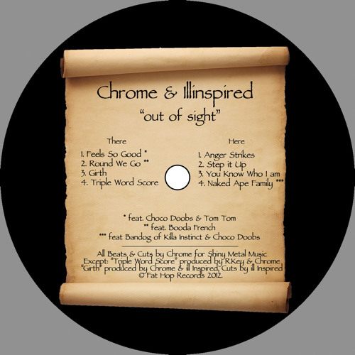 Chrome & Illinspired: Out Of Sight (Previews): Fat Hop Special 004LP