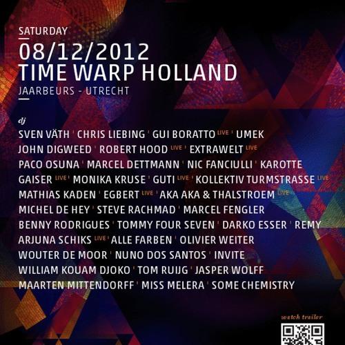 Jasper Wolff & Maarten Mittendorff @ Time Warp // Holland [08-12-2012]