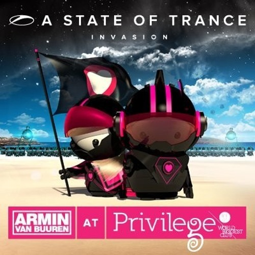 Luiz B - Rainy Days (Lessov Remix) @ (ASOT Invasion With Armin van Buuren)