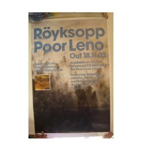 Royksopp - Poor Leno (blablabla Edit)