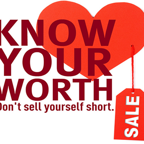 Know Your Worth!! - Daily Word December 12, 2012