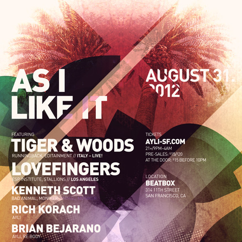 Rich Korach @ AYLI w/ Tiger & Woods 08/31/12