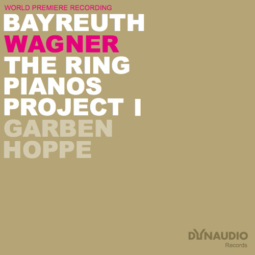Richard Wagner: THE RING PIANOS PROJECT 1 - Ride of the Valkyries. Recorded in Bayreuth.