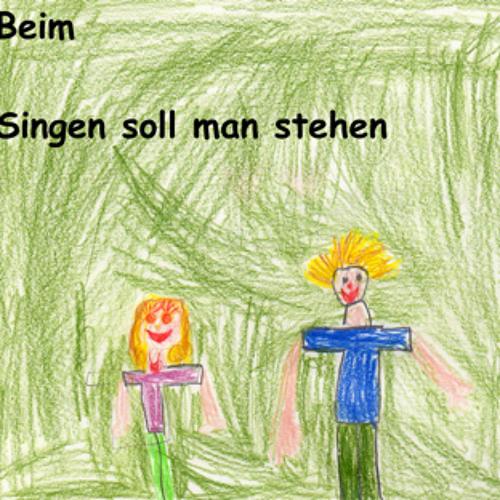 Beim Singen soll man stehen
