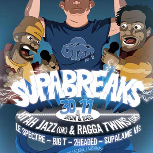 SupaBreaks 30.11.12 feat. Utah Jazz & Ragga Twins