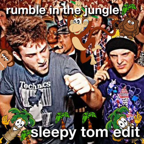 Zeds Dead - Rumble in the Jungle (Sleepy Tom Edit)