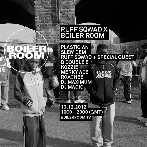 Newham Generals LIVE in the Boiler Room